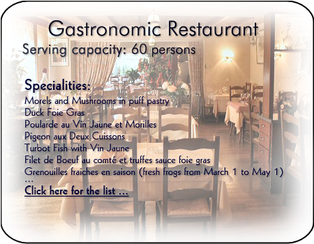 Hotels Restaurant A St Claude