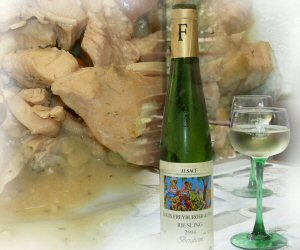 Alsatian Fish Stew with Riesling wine
