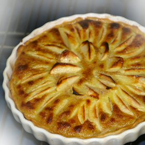 Alsace specialty dessert, Apple Tart recipe