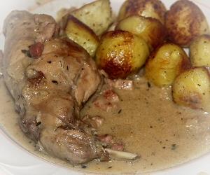 Interfrance recette du lapin la moutarde cuisine de - Cuisine lapin au vin blanc ...