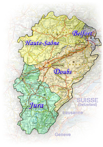 On the doorsteps of alsace, germany and switzerland, it is a land rich