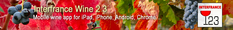 Mobile wine app for iPad, iPhone, Android, Chrome, Tablet and Smartphone