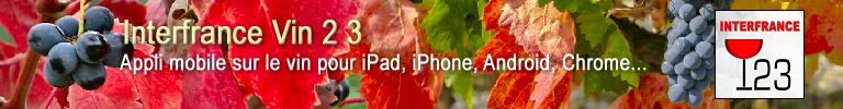 Appli mobile sur le vin pour iPad, iPhone, Android, Chrome...